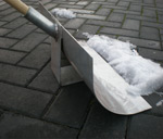Stainless Steel Snow Shovel