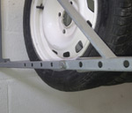 Adjustable Wheel Racks