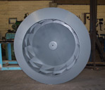 Mild Steel Tarmac Plant Centrifugal Fan