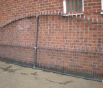 Steel Double Gates and Railings