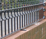 Wall Top Gates and Railings