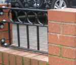 Wall Top Railings