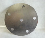 Circle Plate with Holes