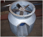 Axial Bifurcated Fan
